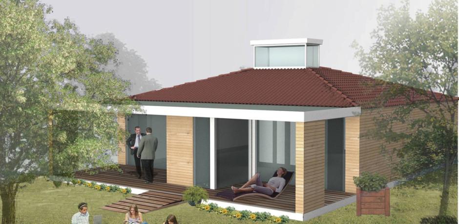 Casa tipo da 100mq for Case in legno 100 mq